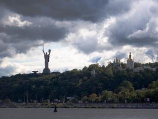 На смену жаре в Киев идёт буря